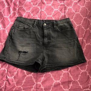 Smoke grey shorts
